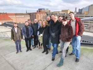 Et resultat af det nye samarbejde Screen Talent Europe – foto fra etablerende møde 29. november 2014 i Aarhus