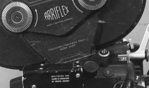 The workshop's first 16mm Arri BL
