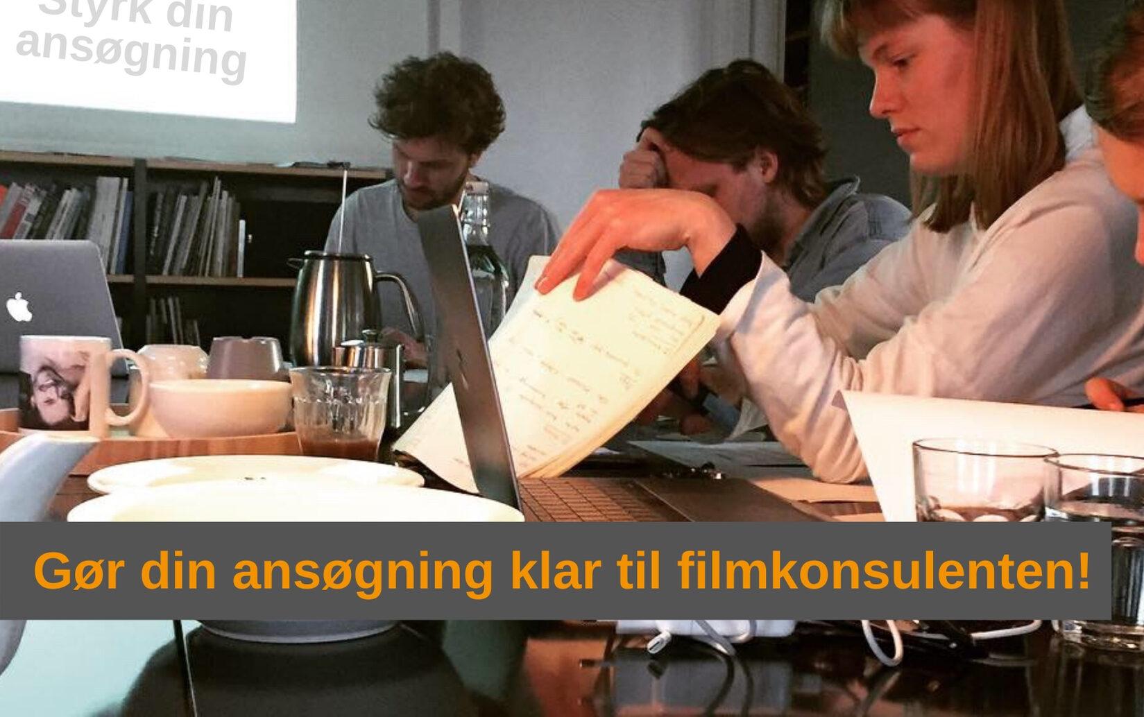 STYRK DIN ANSØGNING – TILMELDINGSFRIST 6. JANUAR